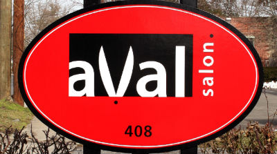 Aval Salon offers hair styling, design and coloring, as well as skin care and nail care